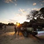 Luxury African Safari game drive